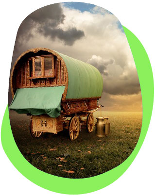 Great eco caravan sites in amazing locations in the UK