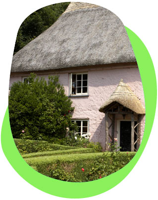 Eco holiday cottage in the UK