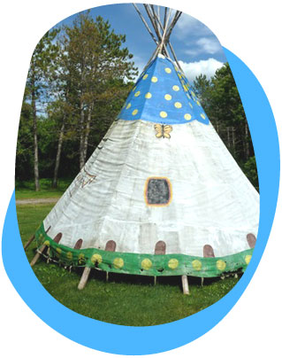Eco tipi or teepee/wigman is a Native American tent  sc 1 st  Green Choices & Yurts and Tipiu0027s | Green Choices