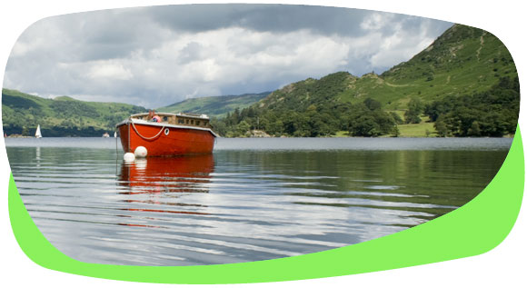 Travelling by boat is a fabulous eco way to experience the countryside