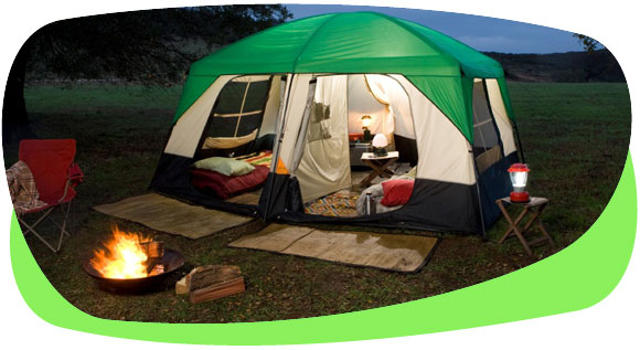 Camping holidays can be best eco option