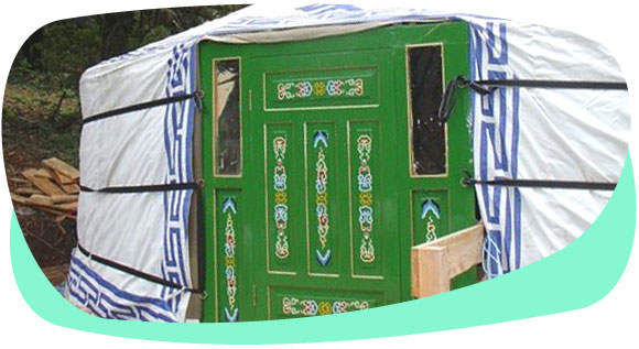 So what exactly is a yurt?